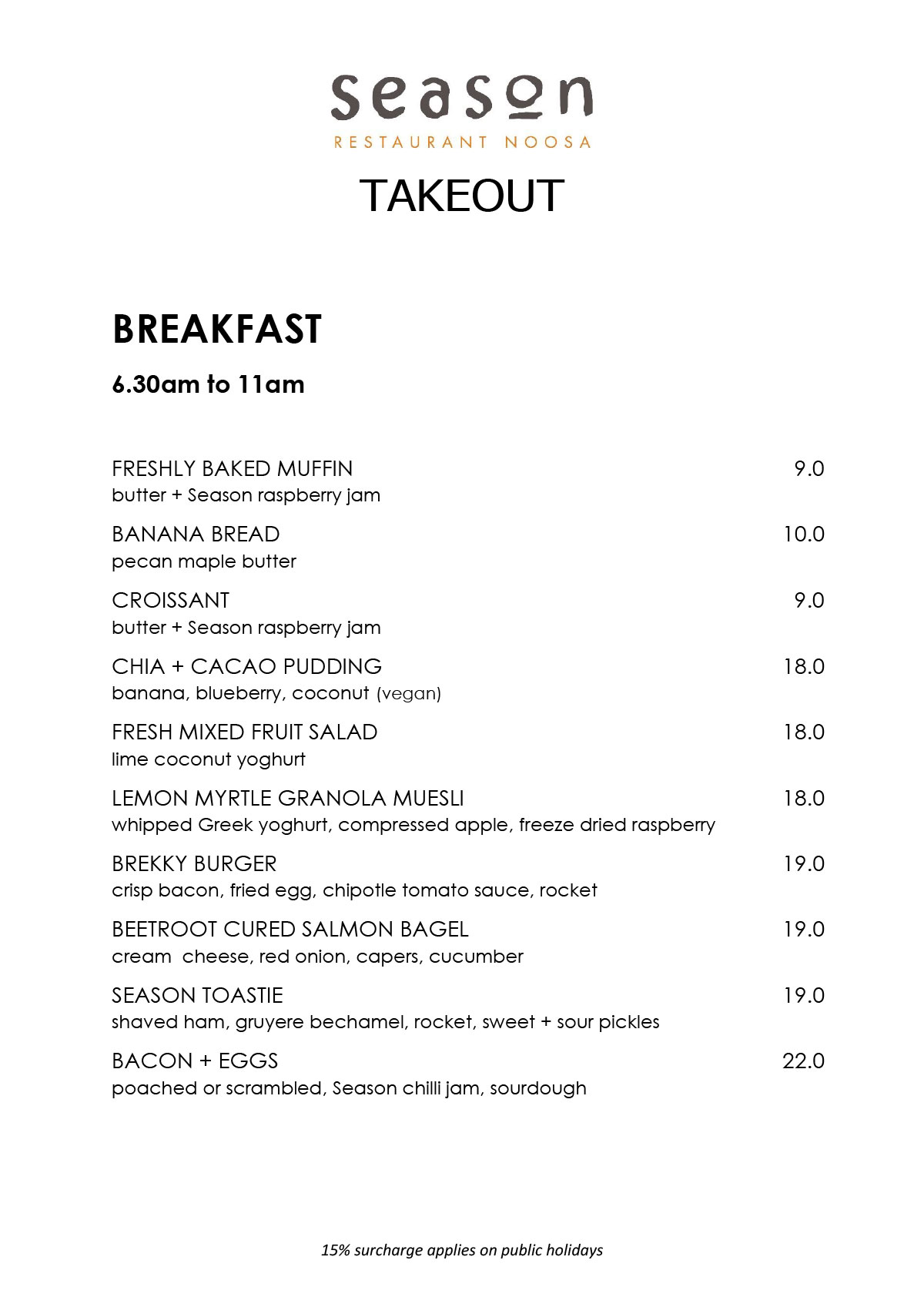 Takeout Breakfast Lunch And Dinner 1